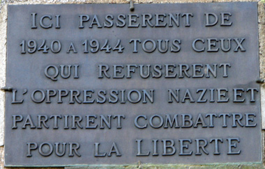 Plaque du Refuge des Estagnous